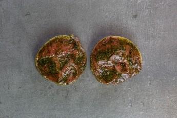 Minted Lamb Leg steak