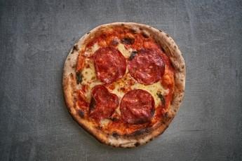 pepperoni Brick Pizza